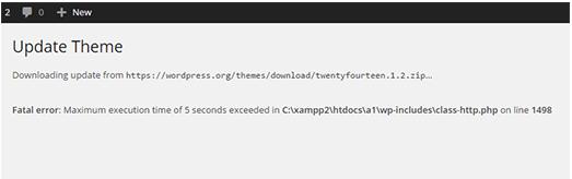 在WordPress中如何解決致命錯誤:超過最大執行時間