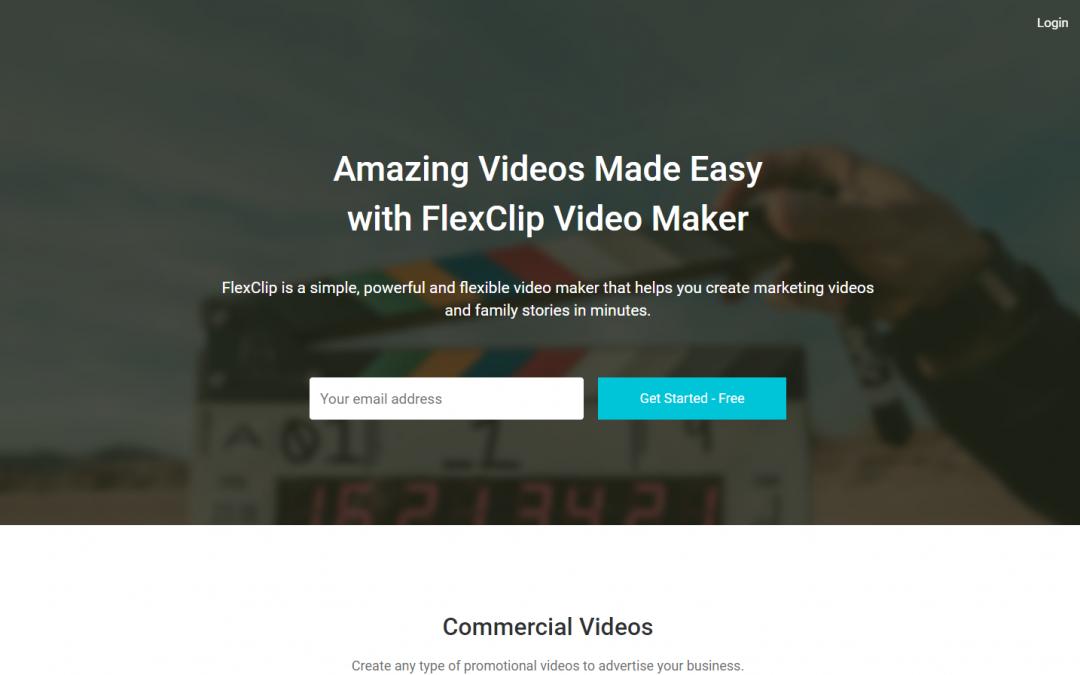[分享]免費的線上短片剪輯 | FlexClip